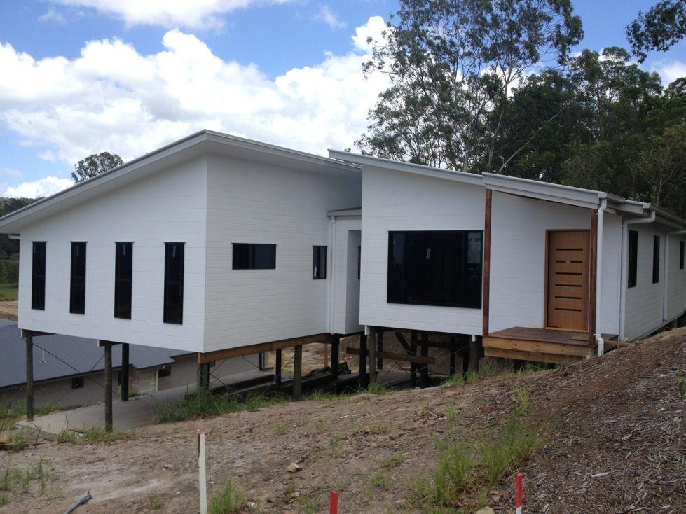 Colorbond shale grey roof dulux lexicon half exterior - Colorbond colour schemes exterior ...