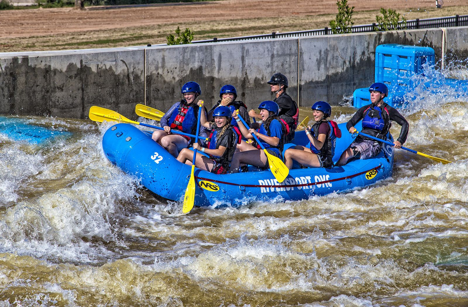 https://flic.kr/p/GYwwDx | Having a Great Day! | Riversport OKC white water rapids in Oklahoma City.