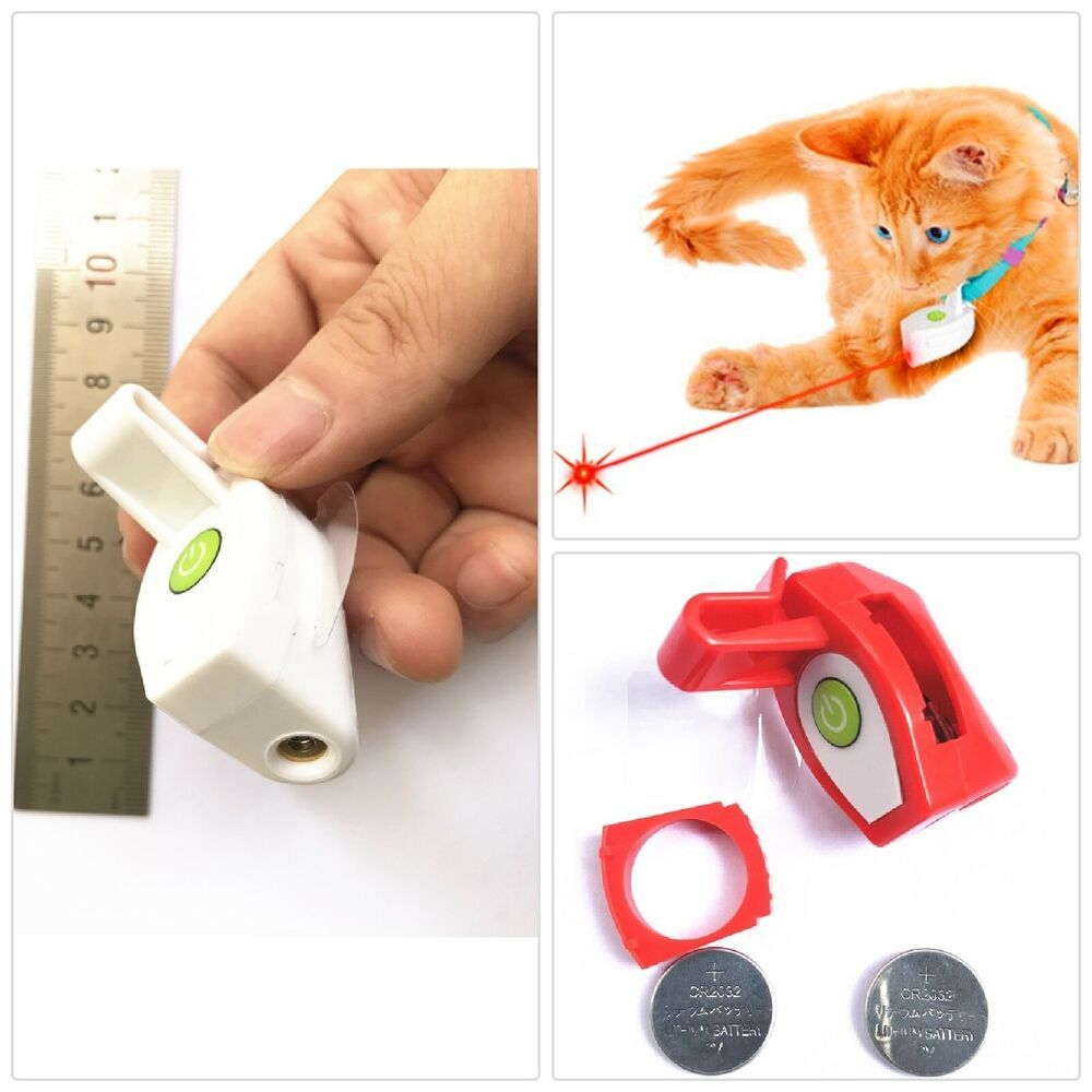 Laser Pointer Light Beam Cat Toy for Capacitive Touch Red