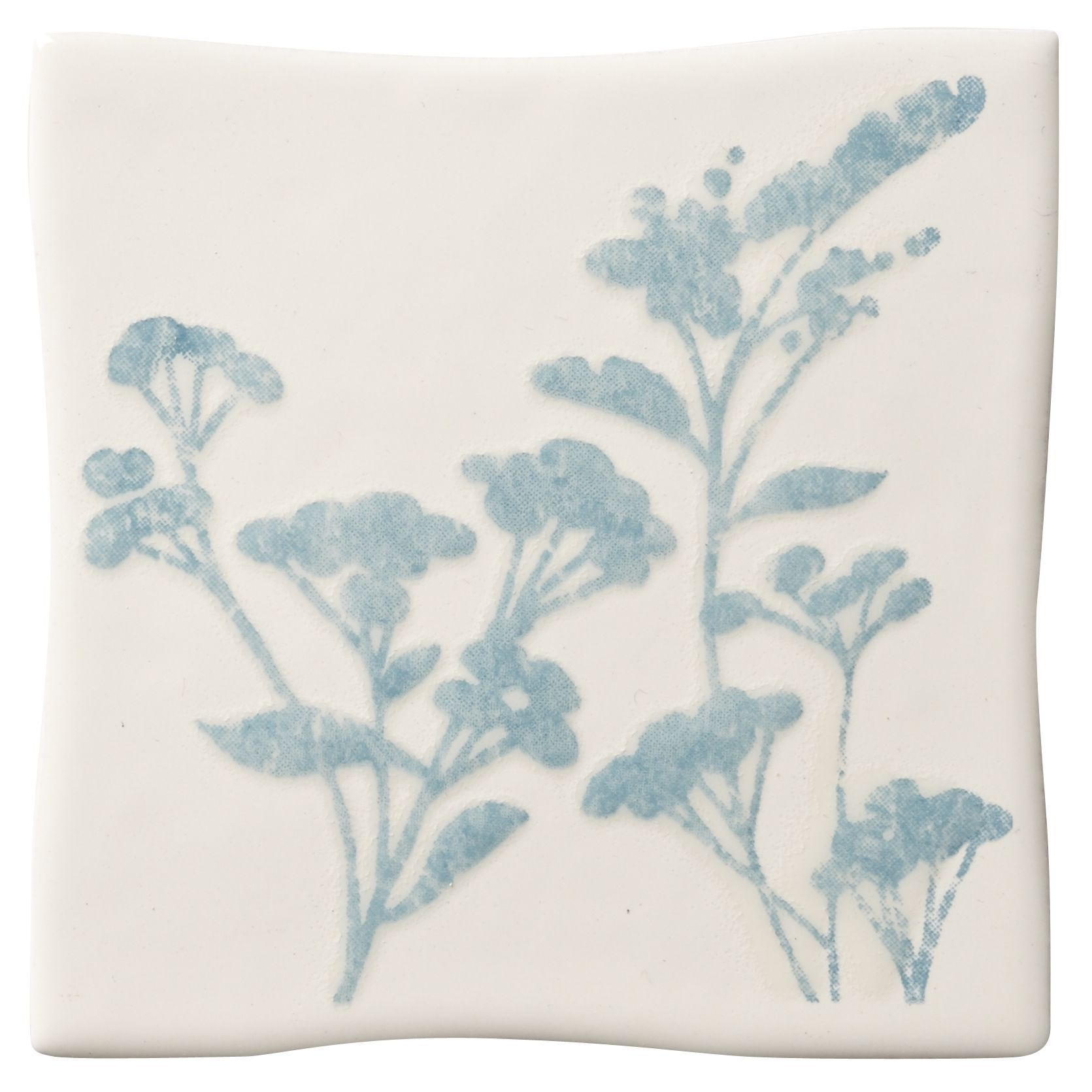 Padstow Sky Blue Ceramic Wall Tile, (L)100mm (W)100mm   Departments ...