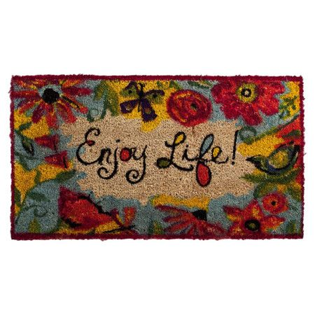 Crafted Of Coconut Coir This Eco Friendly Doormat