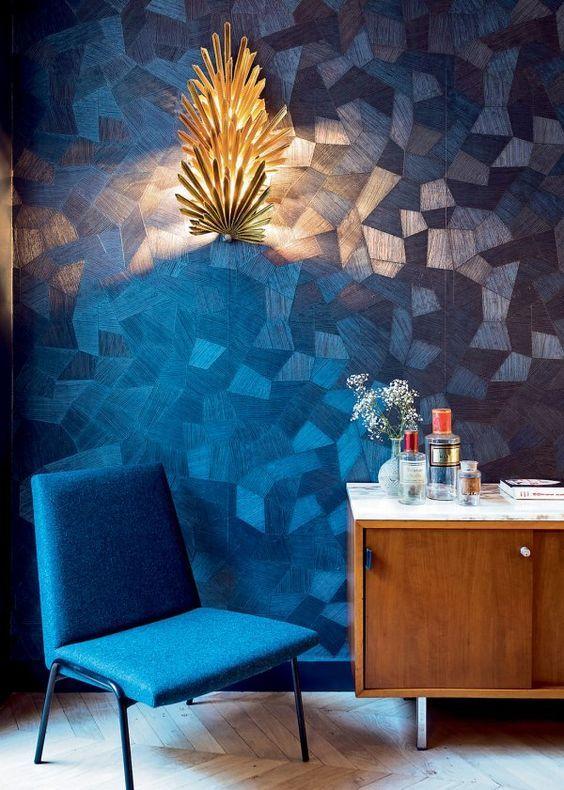 Harbour Blue- Always a good idea | Wall texture design ...