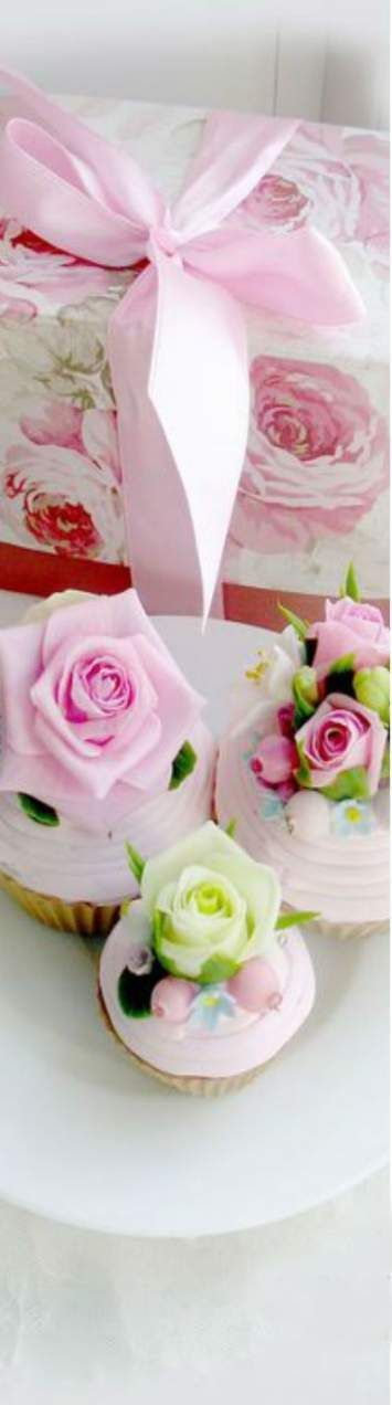 45+ ideas cupcakes wedding simple pink roses