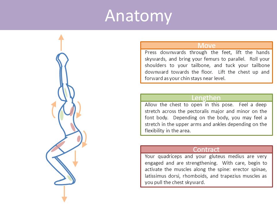 Chair Pose Utkatsana Chair Pose Yoga Yoga Poses Pictures Yoga Anatomy