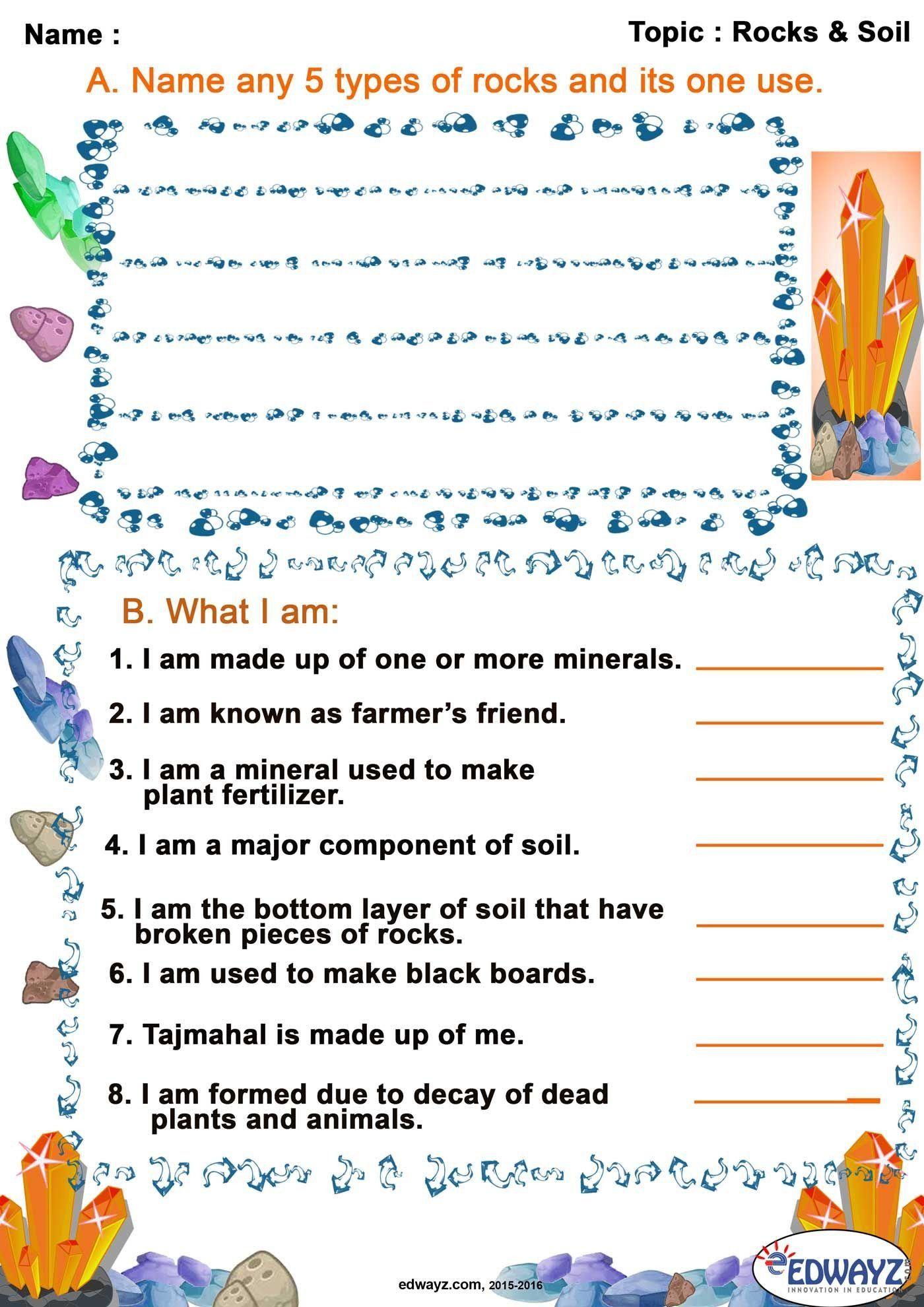 Soil Worksheets 3rd Grade Soil Worksheets Grade 3 In 2020 Science Worksheets Worksheets Body Systems Activities