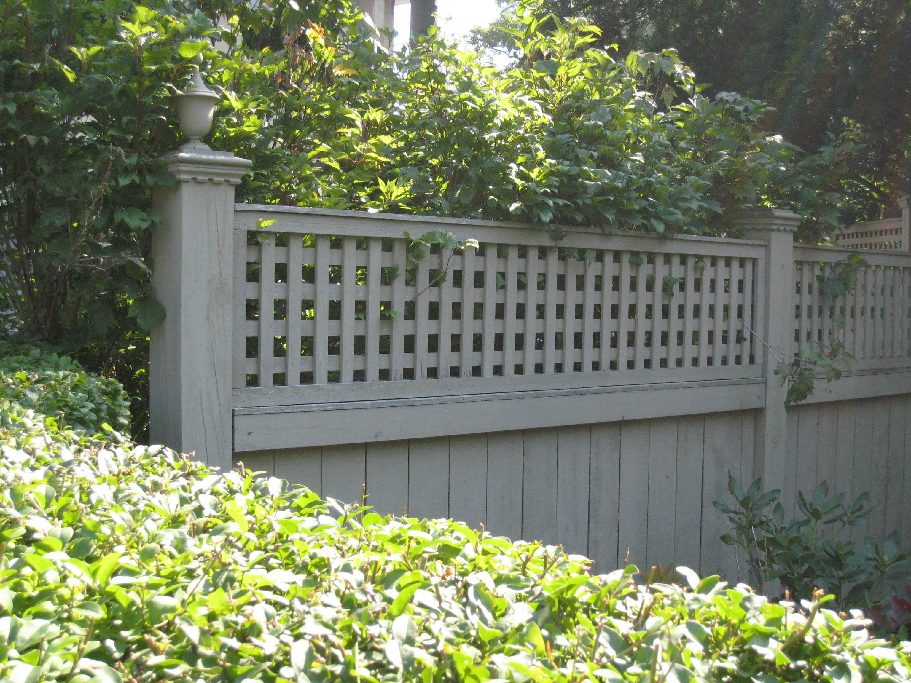 Fencing Decorative Newell Toppers Painted Fence Ideas Garden Fence Paint Fenced Vegetable Garden Front Yard Fence