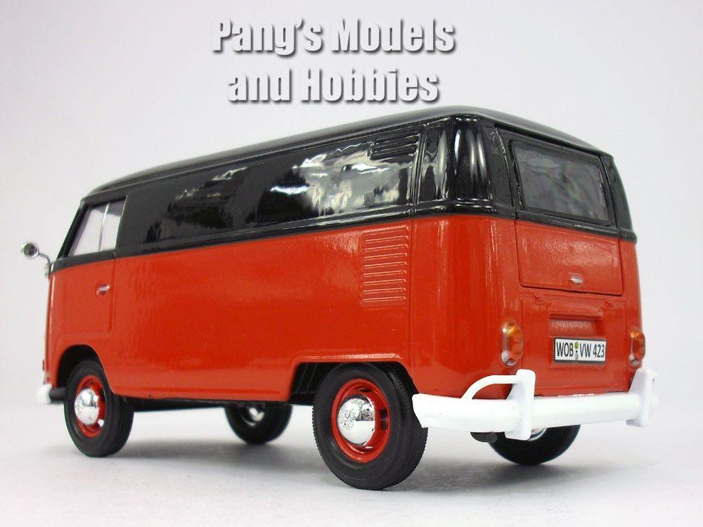 volkswagen vw t1 type 2 delivery bus van 1 24 diecast. Black Bedroom Furniture Sets. Home Design Ideas