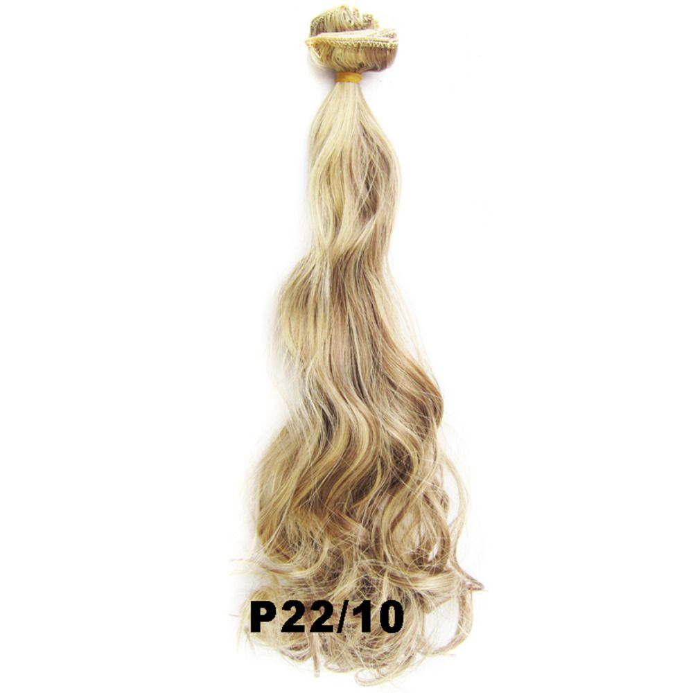 Delice 7pcs Set 22inch Clip In Full Head Synthetic Curly Hair