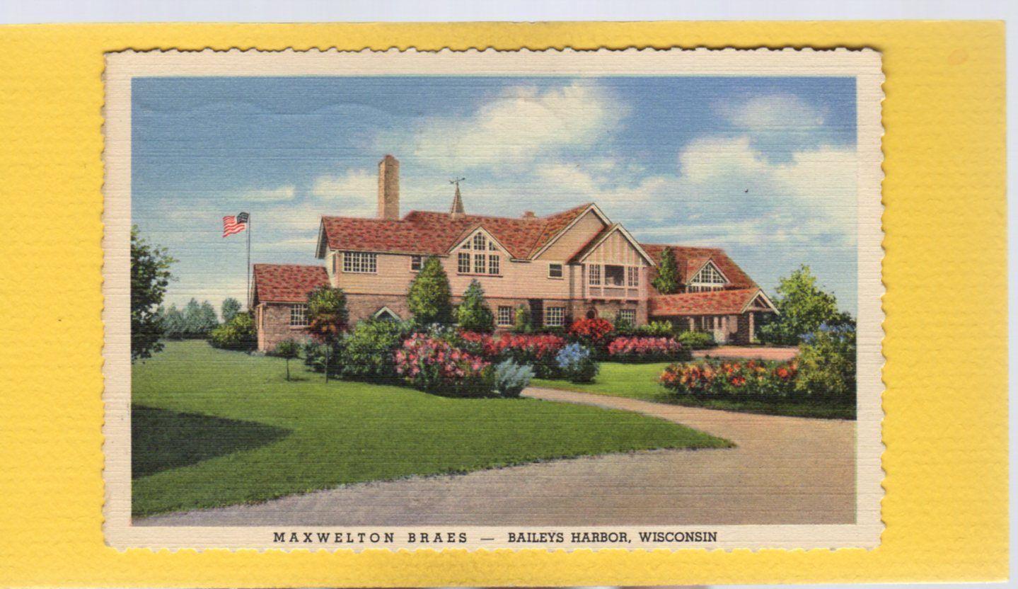 Maxwelton Braes Lodge A Long Standing Door County Tradition Door County Baileys Harbor Vintage Door