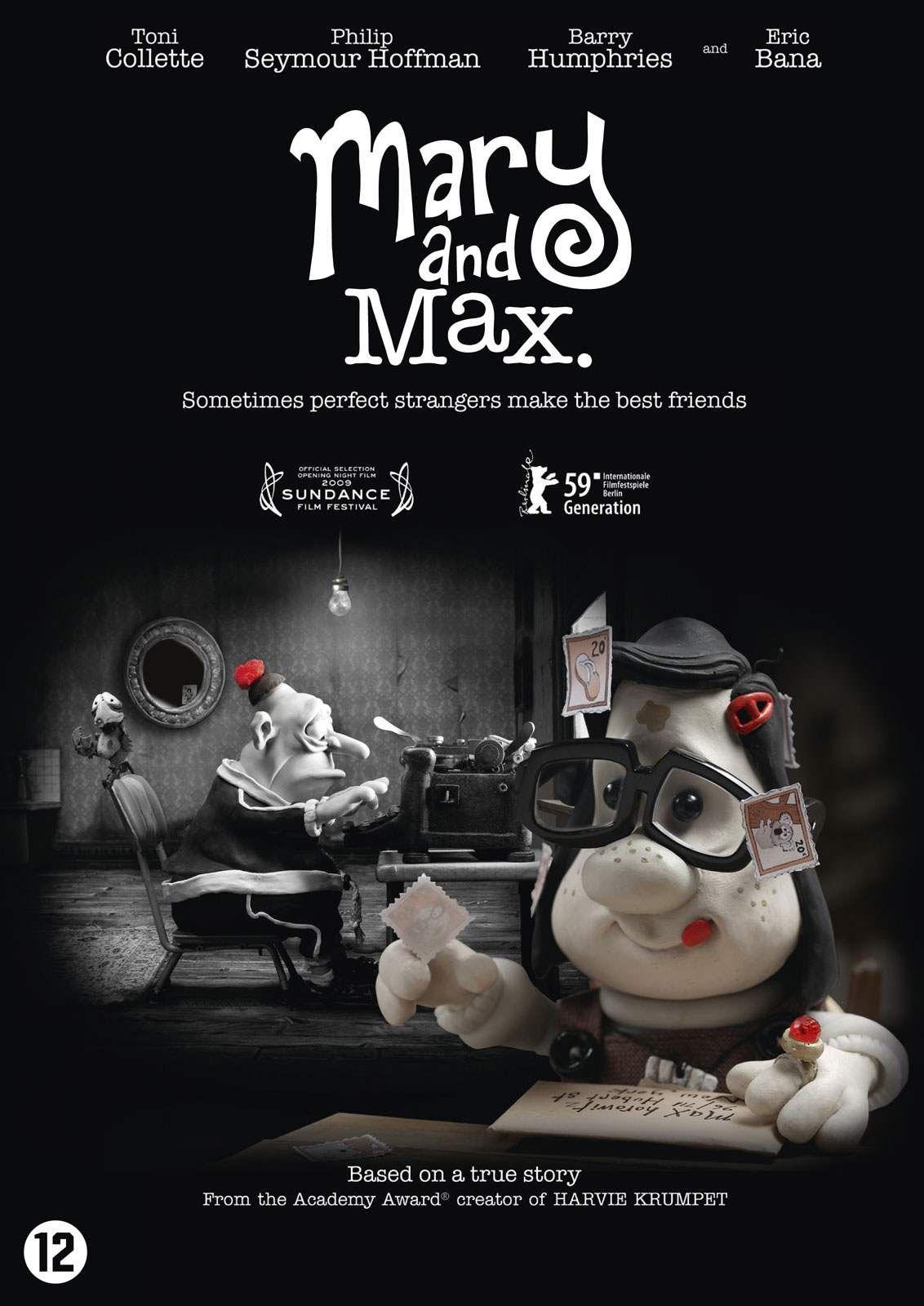 Mary And Max 720p Altyazili Izle Hdfilmbank 720p Film Izle Mary And Max Max Movie Sundance Film Festival