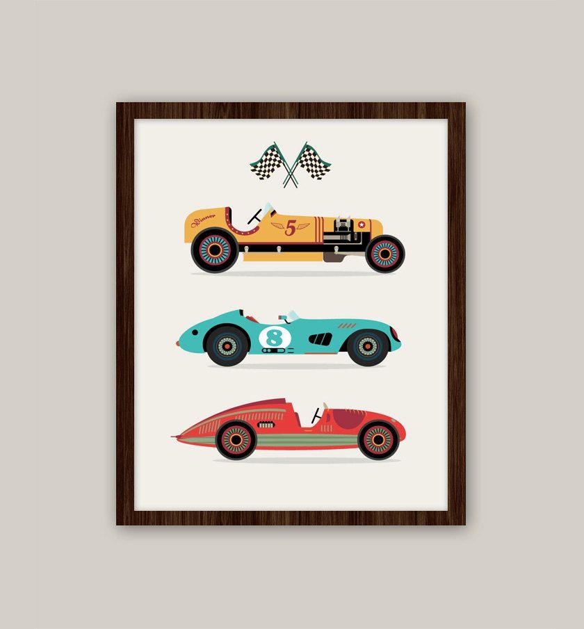 Transportation Nursery Art 11x14 Print