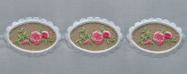 Vol 4 English Lace Ovals by Hope Yoder. I met this amazing woman recently and she is so clever.