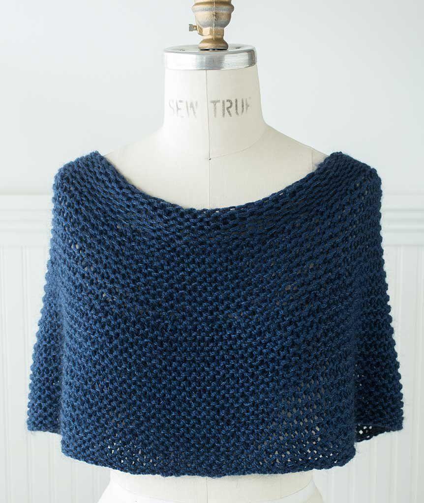 Shoulder Cozy Using Shibui Drift/Silk Cloud   Yarns, Knitting ideas ...