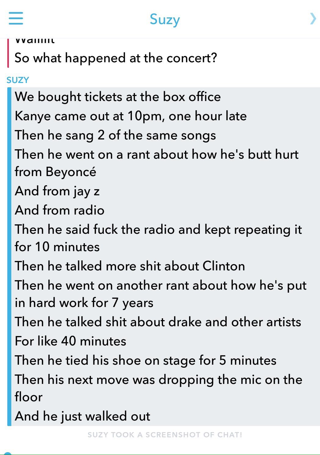 #KanyeIsOverParty