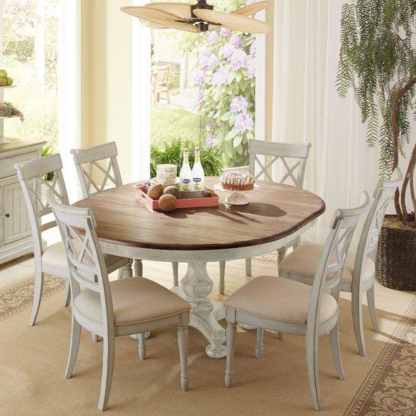 Great Cresent Furniture Cottage 7 Piece Dining Set U0026 Reviews   Wayfair.ca