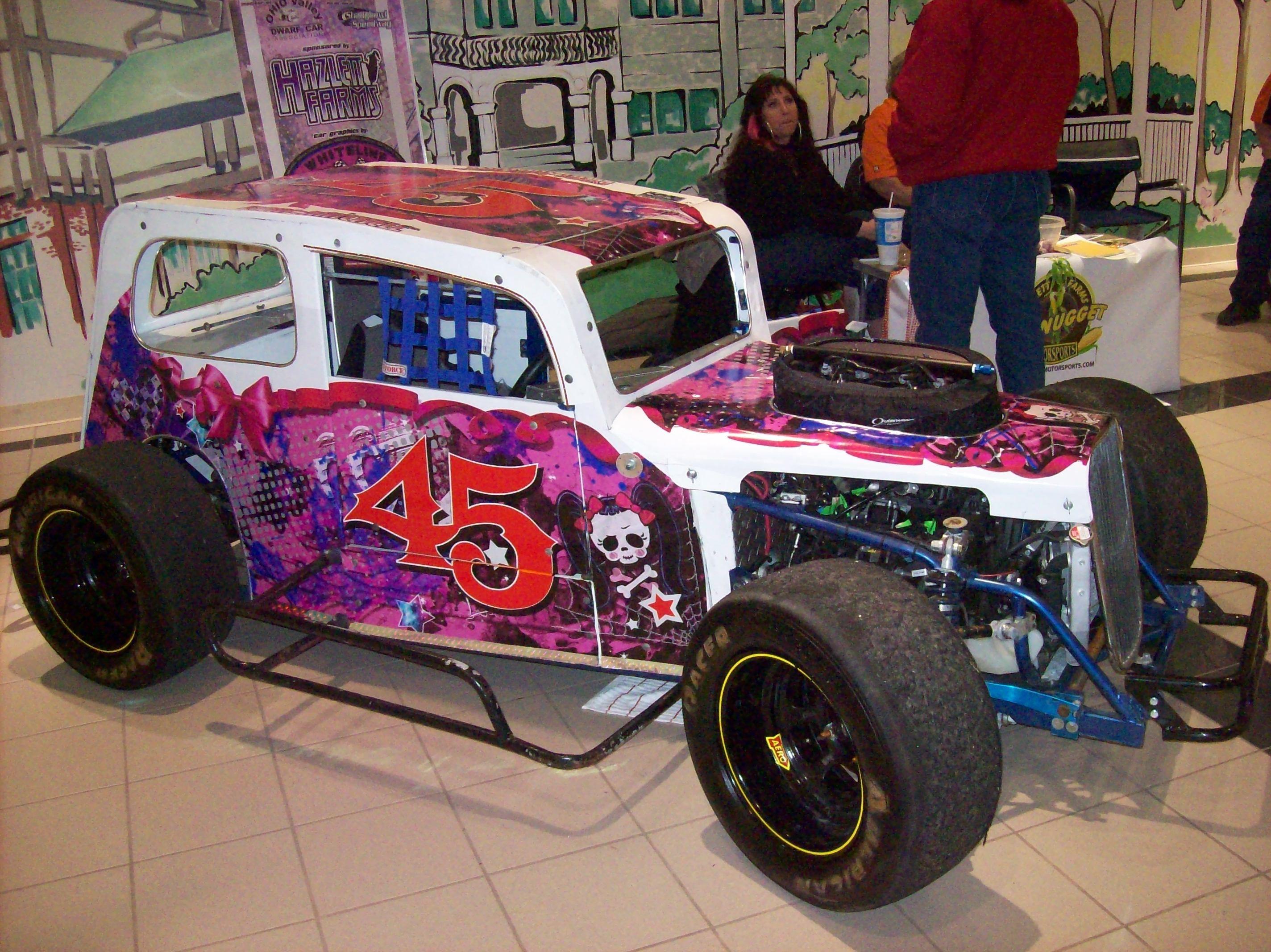 Lynn Mitchel Dwarf Car Shadybowl Speedway Ohio Ohio Race Cars