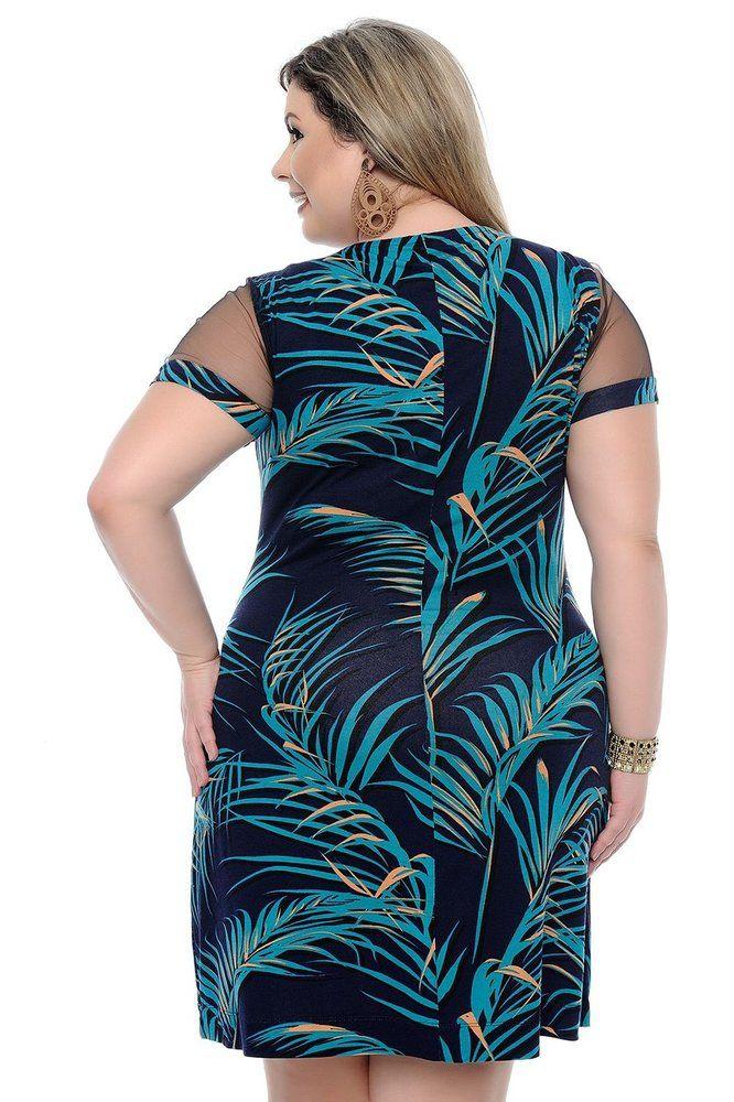 dfe17c4b36c8 Vestido Plus Size Hepburn   Daluz Plus Size - Loja Online - Daluz Plus Size