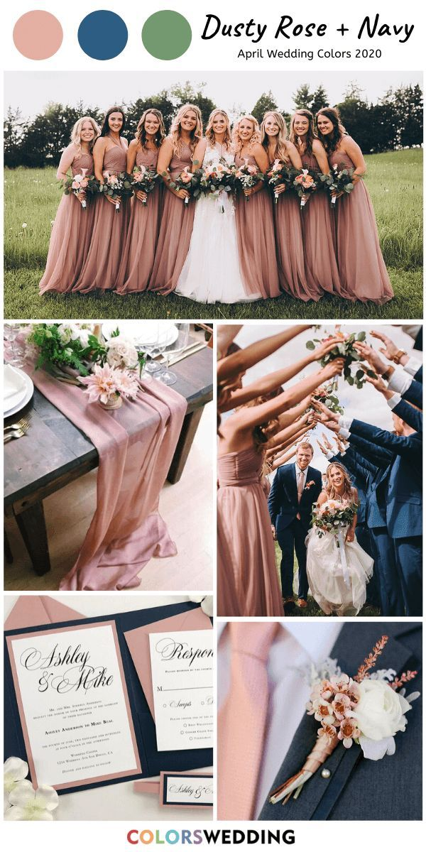 Bridesmaid Dresses, Colors and Combinations - Fash