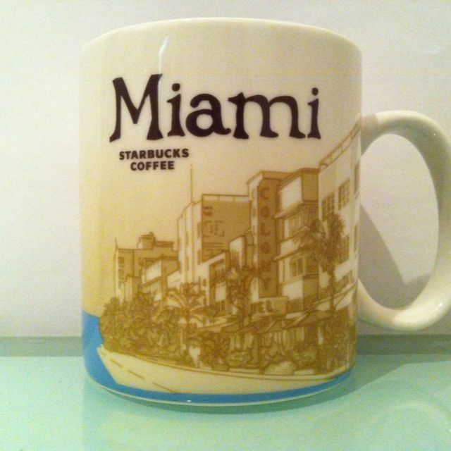 Starbucks Miami Coffee Mug Mugs Unlimited