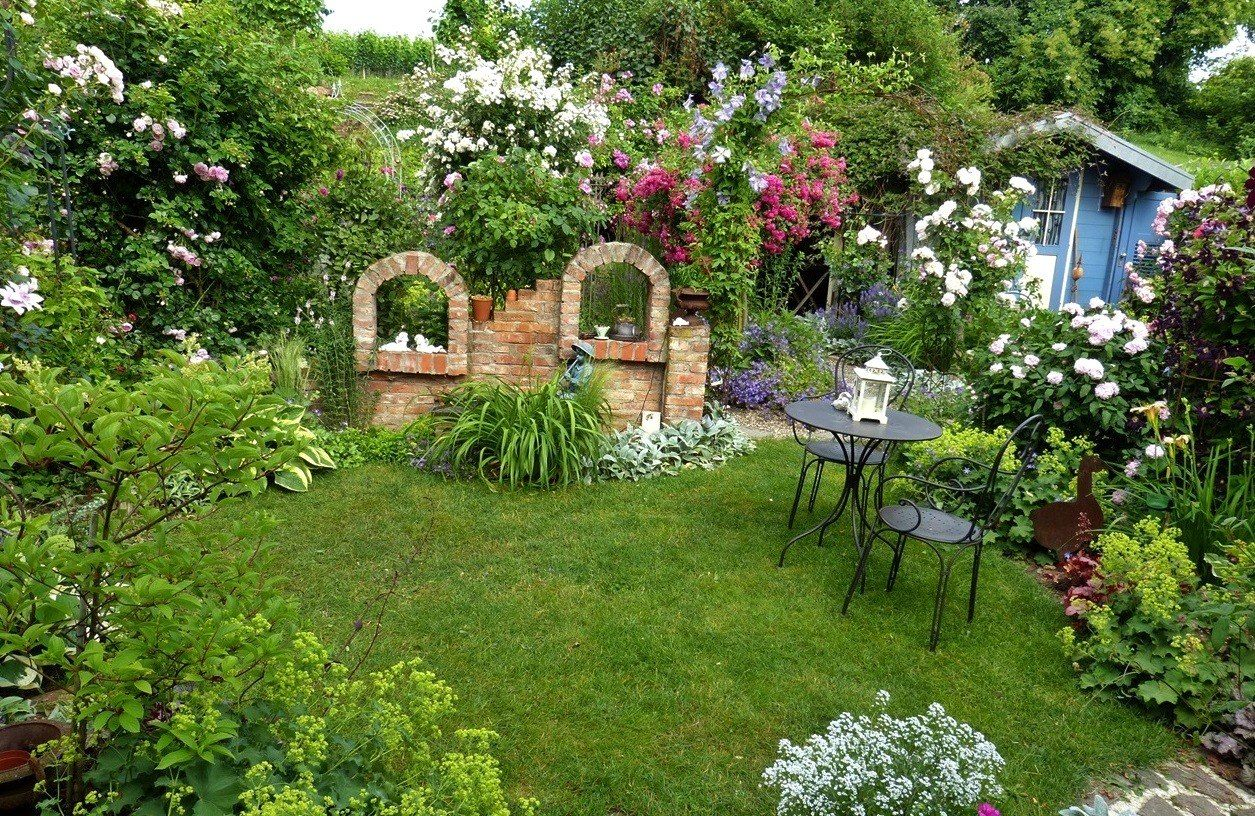 Gartengestaltung kleine garten for Gartengestaltung 150 qm