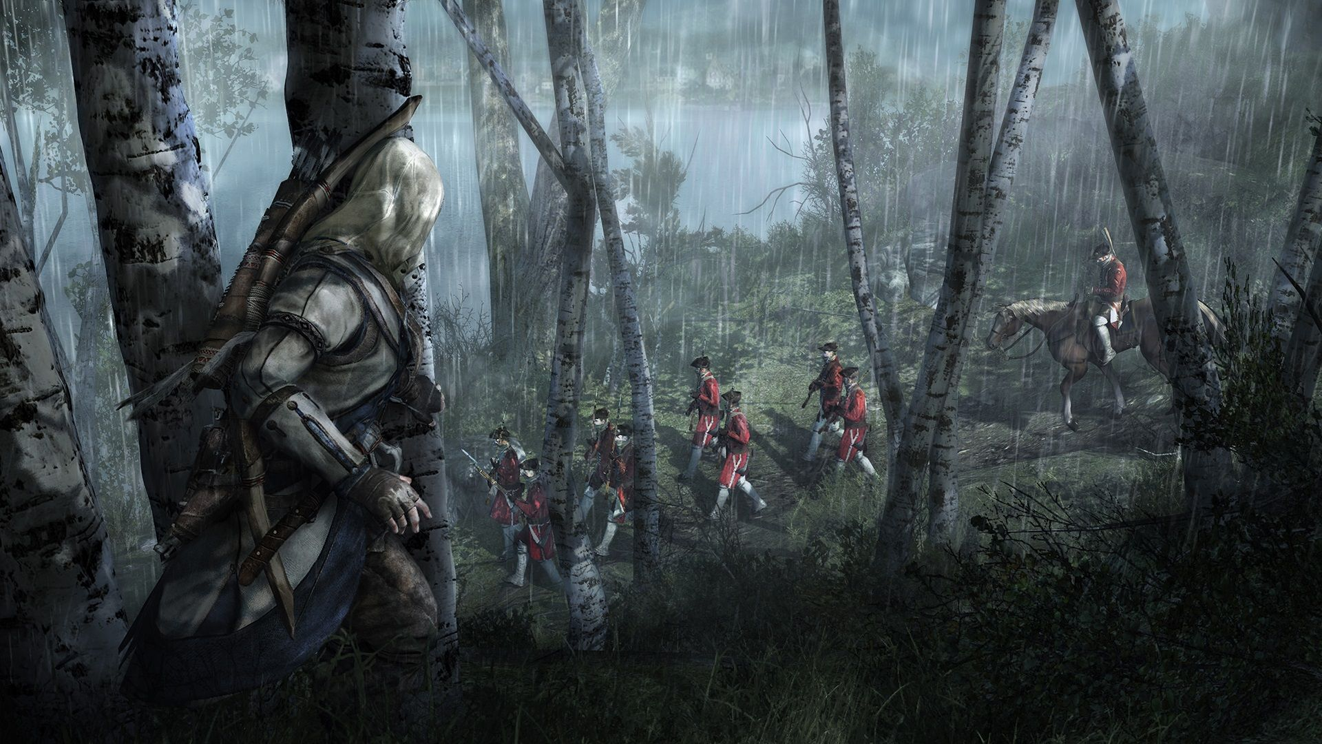 Connor kenway with an ax assassins creed iii wallpaper game art connor kenway with an ax assassins creed iii wallpaper game voltagebd Choice Image