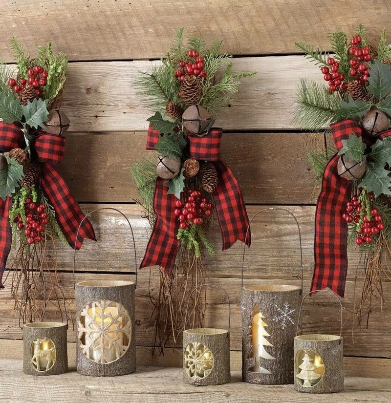 Love The Addition Of Jingle Bells, Different Plaid