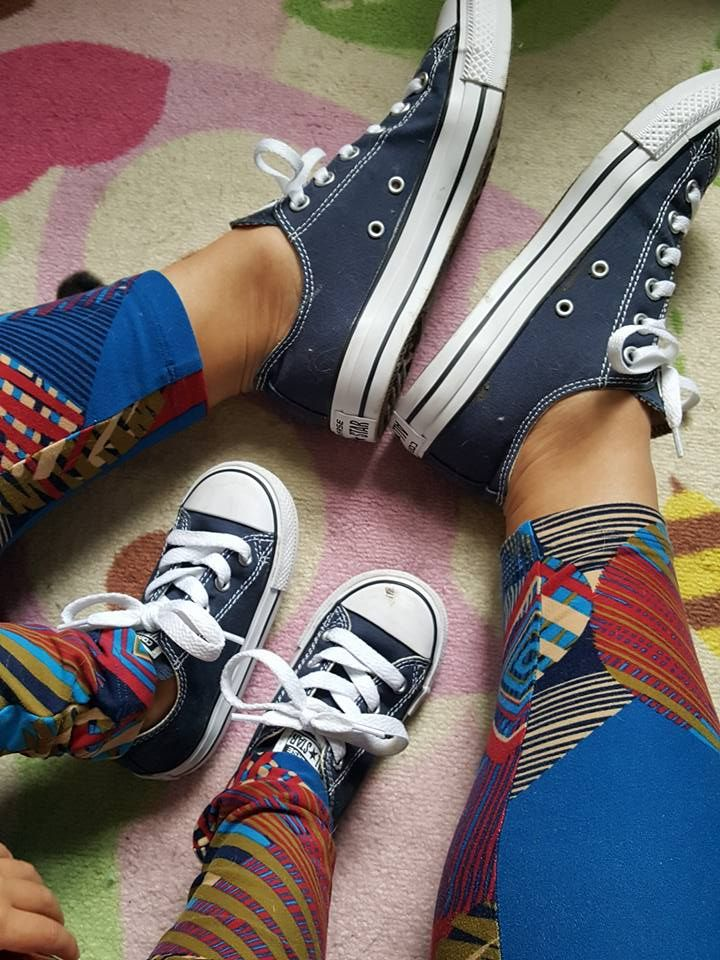 Mommy & Me Matching Converse Chuck Taylor All Star Sneakers