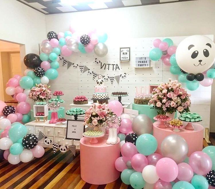 Instagram in 2020 panda decorations panda party