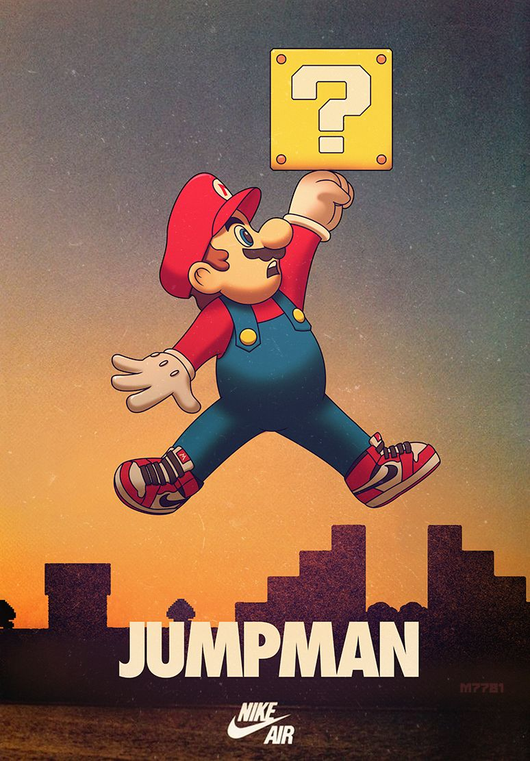 Jumpman Created by Marco D\'AlfonsoWebsite || DeviantArt || Tumblr ...