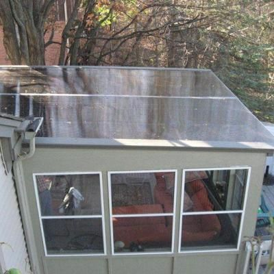 Lexan Thermoclear 48 In X 96 In X 1 4 In Bronze Multiwall Polycarbonate Sheet Pctw4896 6mmbz The Home Depot Patio Enclosures House Built Into Hillside Roofing Options