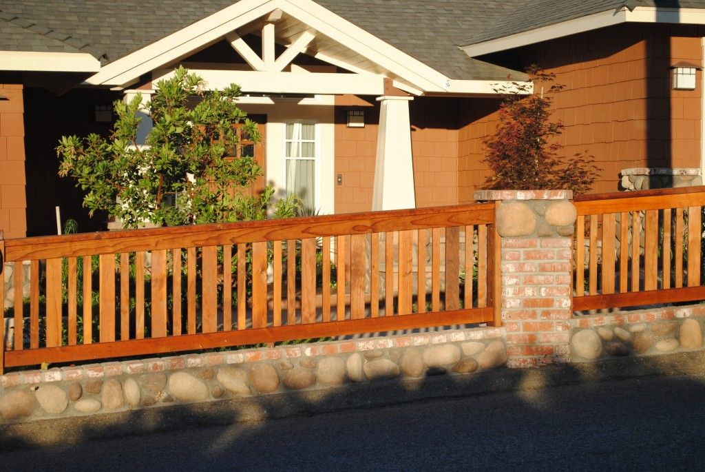 Good Picts Of Fences Made Of Brick An Wood | Finest Fence Contractor U2013 Simi  Valley,