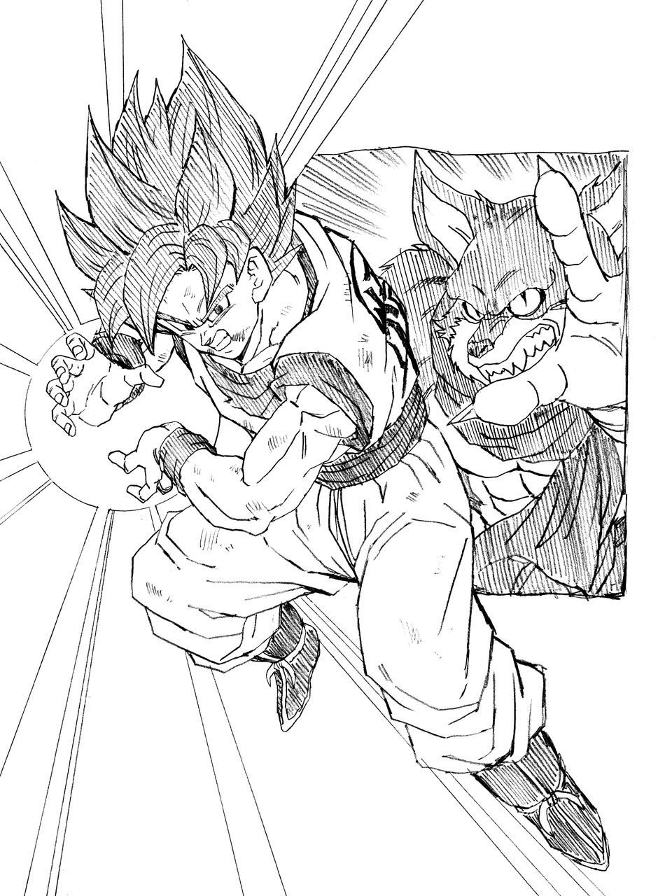 Goku SSGSS | Youngjijii | Pinterest
