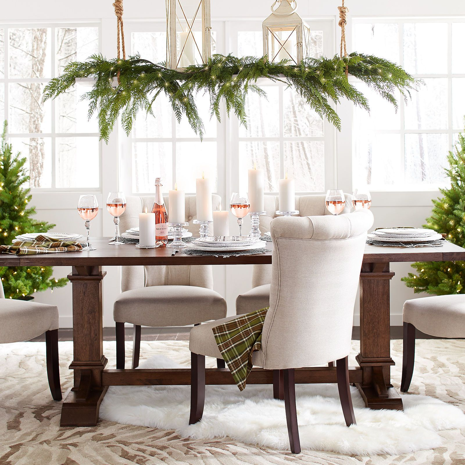 Pier 1 Imports Dawson Walnut Brown Dining Tables  Construction Captivating Pier One Dining Room Ideas Design Decoration