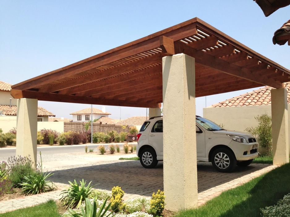 Sensitive Rendered Entry Porch Design Click To Investigate Techo Para Cochera Techos Para Autos Pérgola Para Garaje