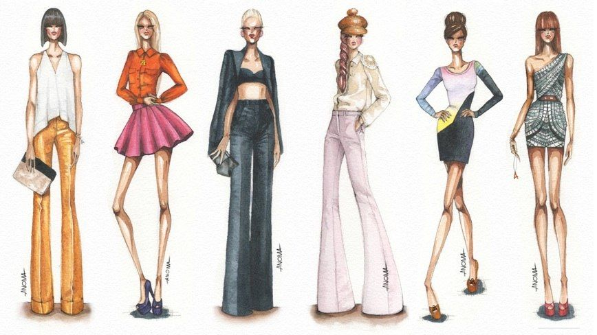 17 Best images about Fashion Sketches on Pinterest   Dress ...