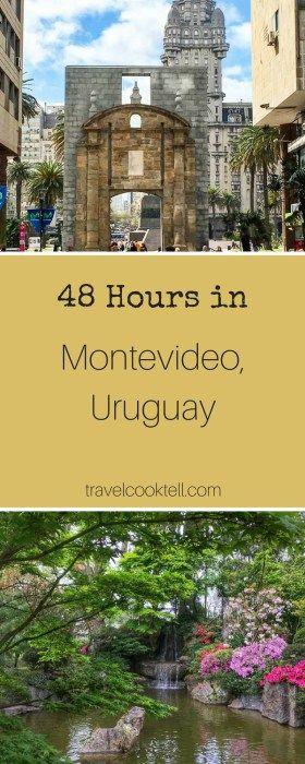 48 Hours in Montevideo, Uruguay | Travel Cook Tell  @michaelOXOXO @JonXOXOXO @emmaruthXOXO  #MAGICALURUGUAY