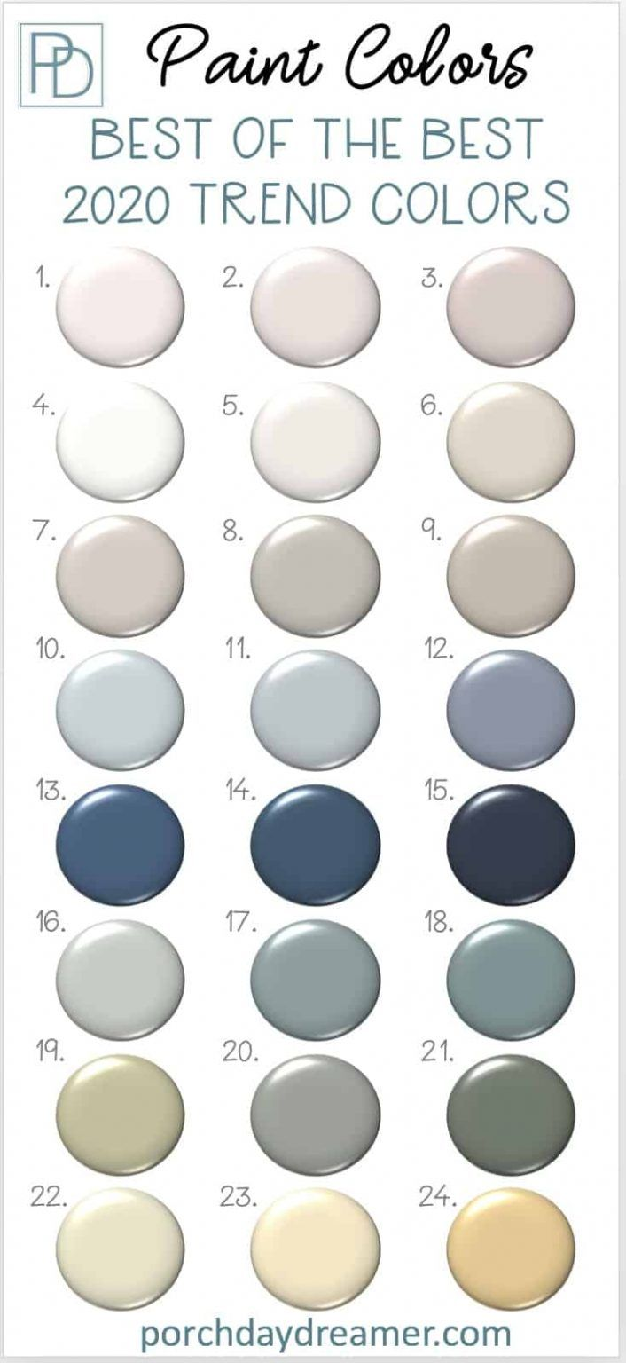 2020 paint color trends 24 best of the best picks on paint colors for 2021 office id=24664