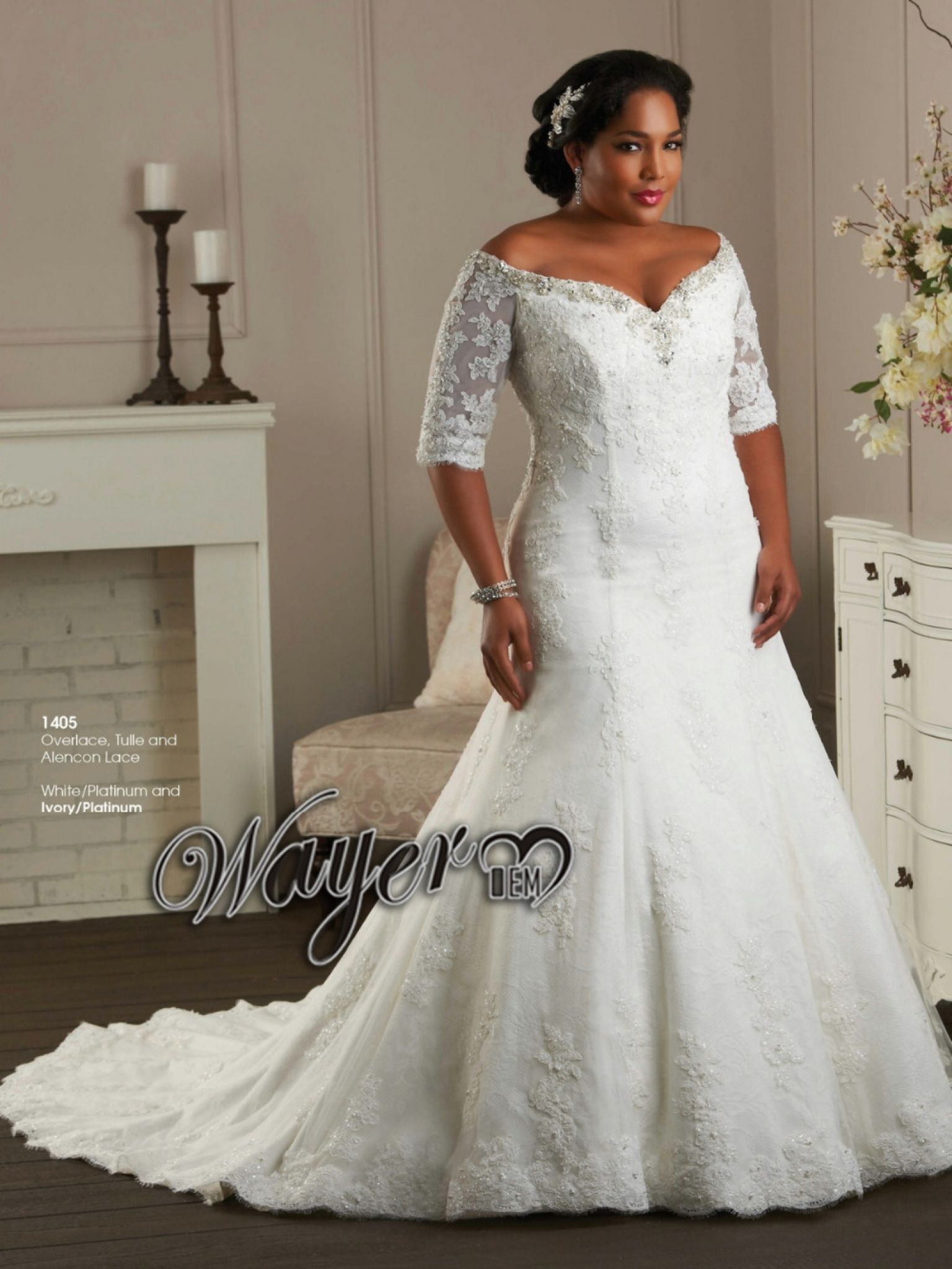 Plus Size Lace Wedding Dresses With Sleeves Best Shapewear For