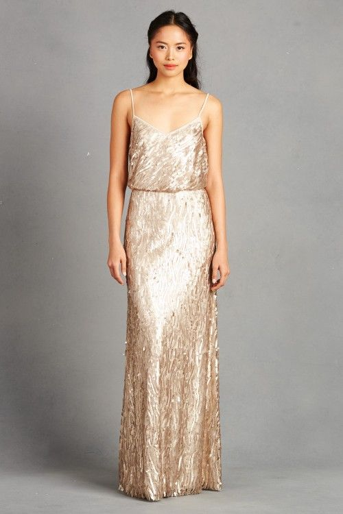 Donna Morgan Courtney Dress 290 Color Toffee