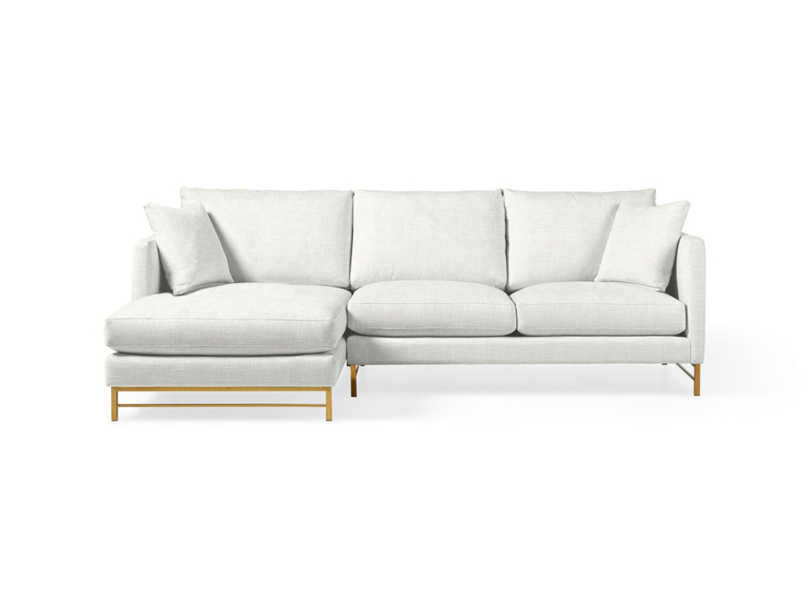 Fine Hayden Two Piece Sectional Arhaus Furniture Bellvue In Gmtry Best Dining Table And Chair Ideas Images Gmtryco