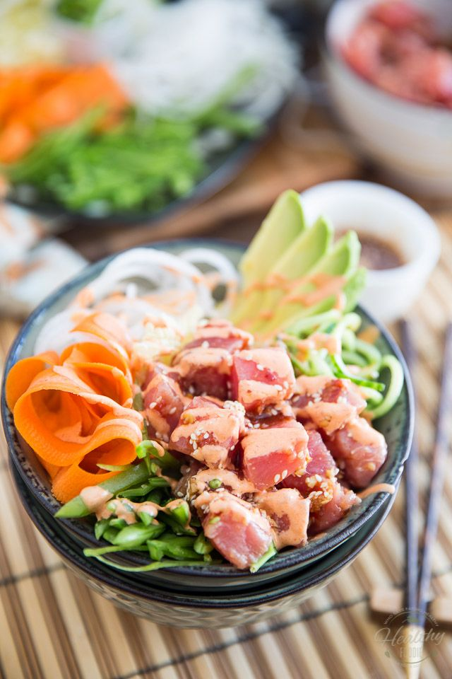 delicious easy super nutritious and so refreshing this poke bowl is sure to become your favorite food item on the entire planet
