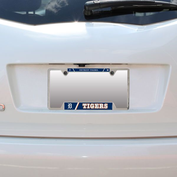Detroit Tigers WinCraft Metal License Plate Frame | License plates ...