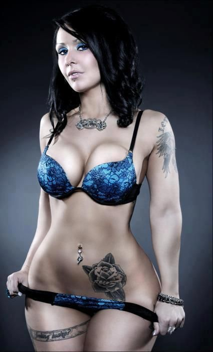 Sexy Figure Sexy Ink Sexy Bra And Panties