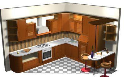 Dise o cocinas manualidades de hogar cocinas - Diseno de cocinas ...