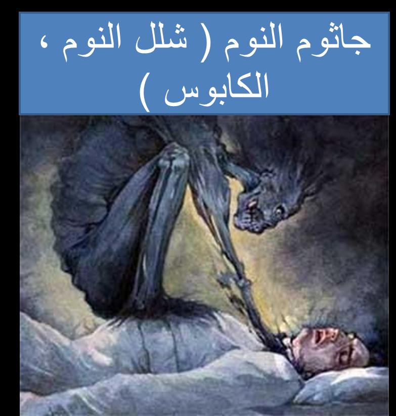 جاثوم النوم شلل النوم الكابوس زائر الليل Poster Movie Posters