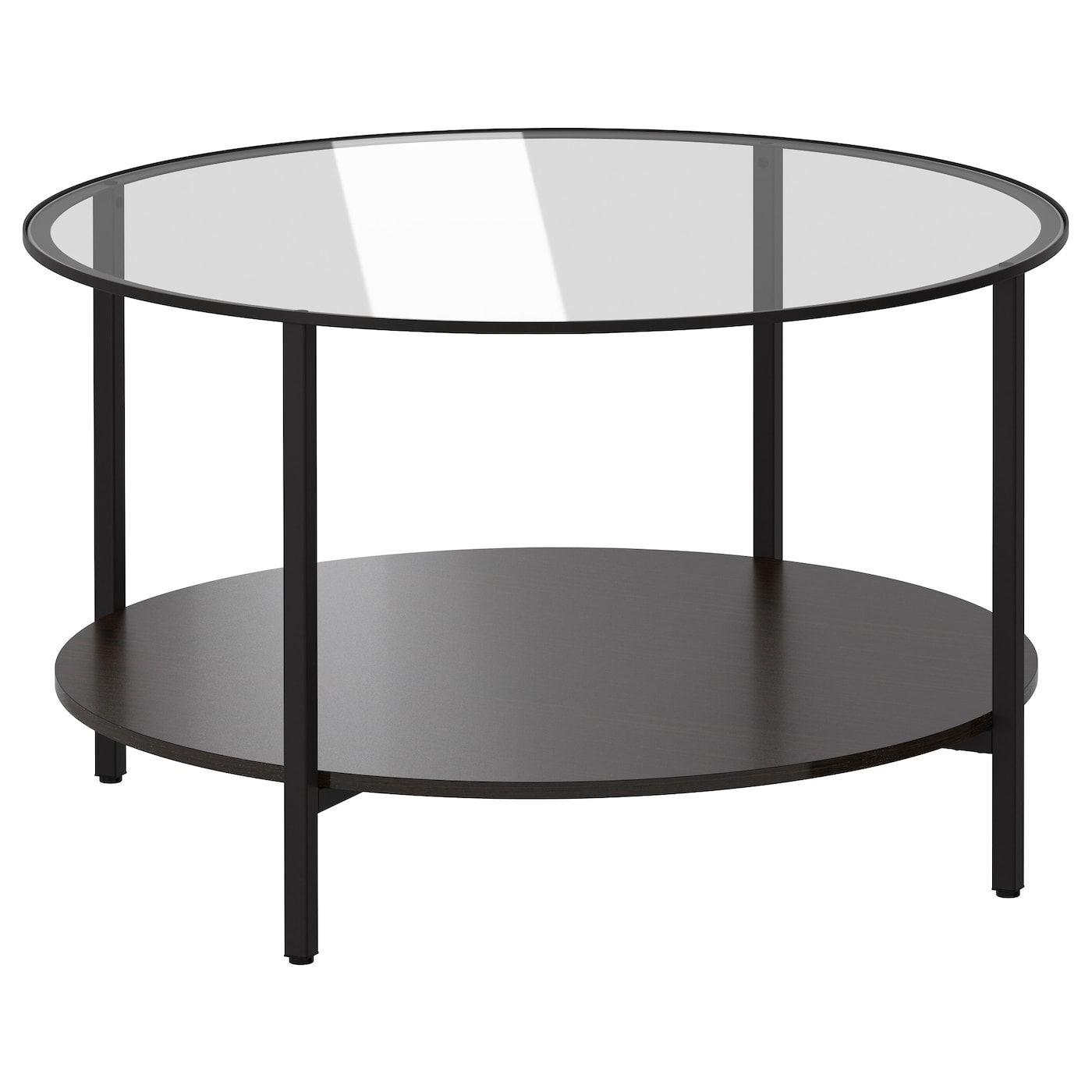 Vittsjo Black Brown Glass Coffee Table 75 Cm Ikea In 2021 Ikea Coffee Table Glass Coffee Table Glass Side Tables [ 1400 x 1400 Pixel ]