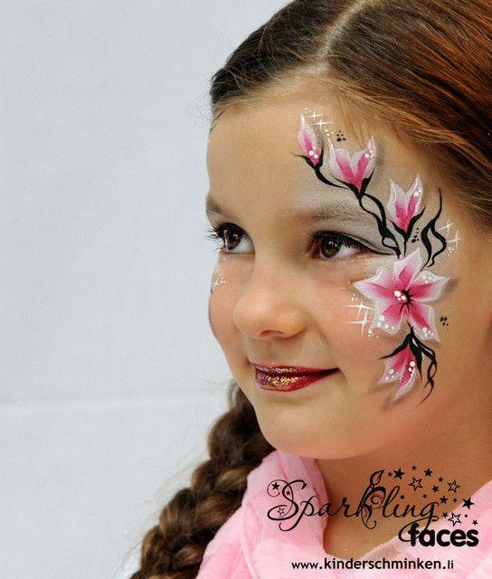 Kinderschminken Kinderschminken Vorlagen Schminkfarben