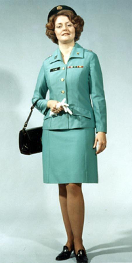 Army Women Dress