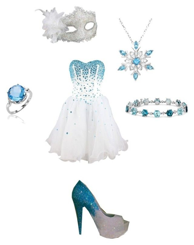 """""""Once Upon A Mystery"""" by phoenix1053 ❤ liked on Polyvore featuring Masquerade, Disney and Blue Nile"""