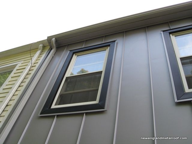 Have You Considered Installing Metal Wall Panels Instead Of Aluminum Siding In This Guide We Will Show How House Cladding House Exterior Exterior House Siding